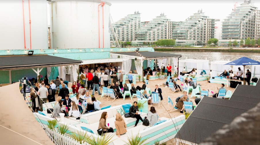 The July Luxe List 2019 - Beach Club Cinema at Fulham Beach