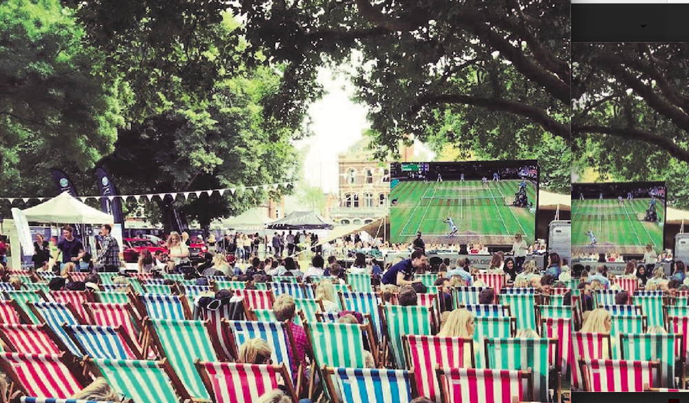 The Luxe List July 2019 - Big Screen on the Green 13th and 14th July