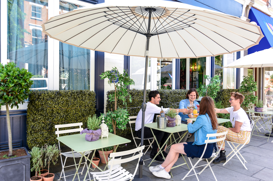 The Luxe List July 2019 Part Two - The Little Blue Door's Gin Inspired Summer Terrace