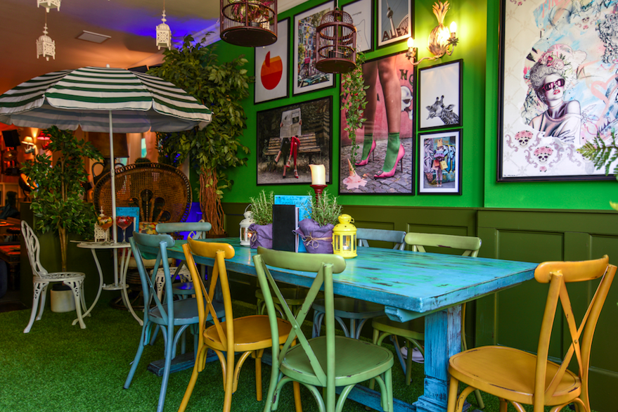 The Luxe List July 2019 Part Two - The Little Blue Door's Indoor Conservatory