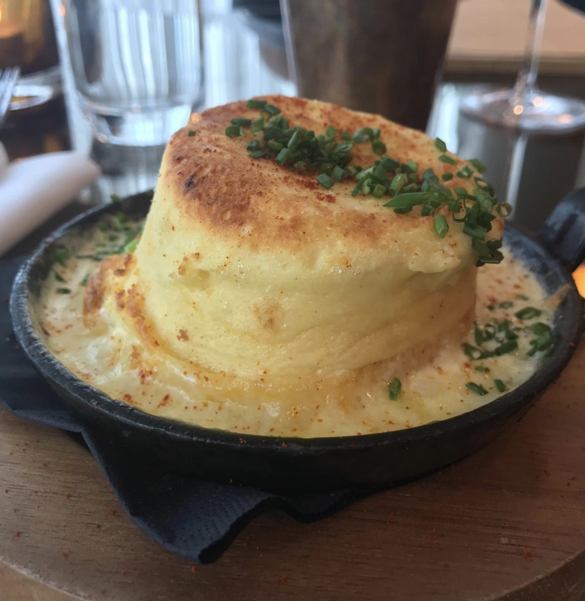 Celebrate the British Summer at Hilton Bournemouth: Cheddar Souffle at Schpoons & Forx