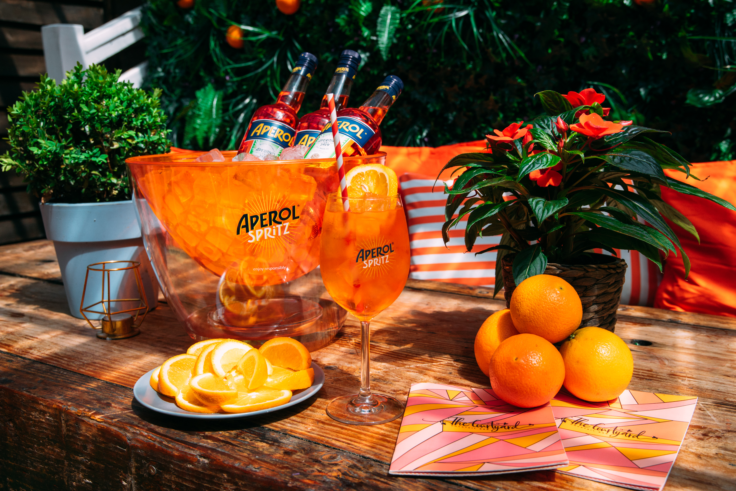 Summer Vibes & Boozy Bottomless Brunch at The Courtyard Fulham: Bottomless Drinks for Two Hours! (Photo Credit: Tom Leishman)
