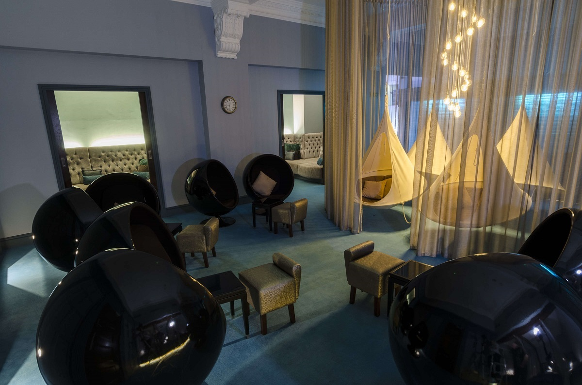 The Midland Hotel Manchester: Relaxation Room at The Spa
