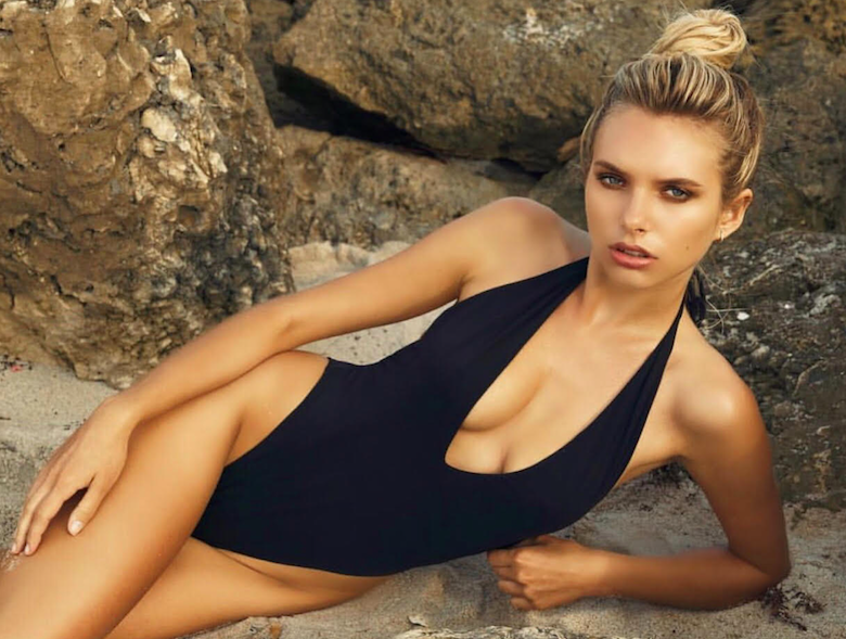 Summer Essentials - Don't Jet Off Without Them! Madison Onyx Plunge Swimsuit £32.00