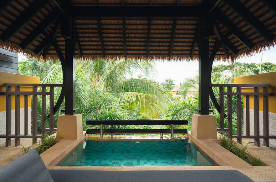 Movenpick Resort and Spa Karon Beach Phuket: Pent House Plunge Pool Villa - Plunge Pool