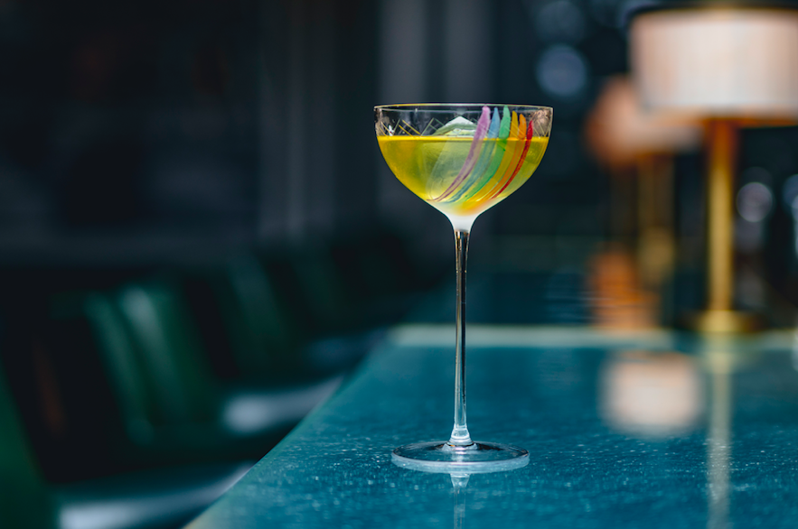 The Best Cocktails in London - 'Our Generation' Menu at Donovan Bar: Sparkling Side of the Moon