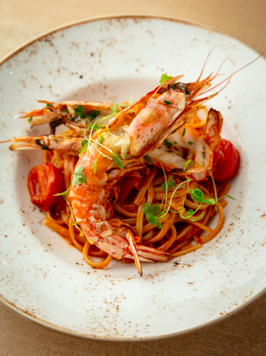 Bocconcino Restaurant - Italian Elegance in the Heart of Mayfair: Linguine with Scottish Lobster