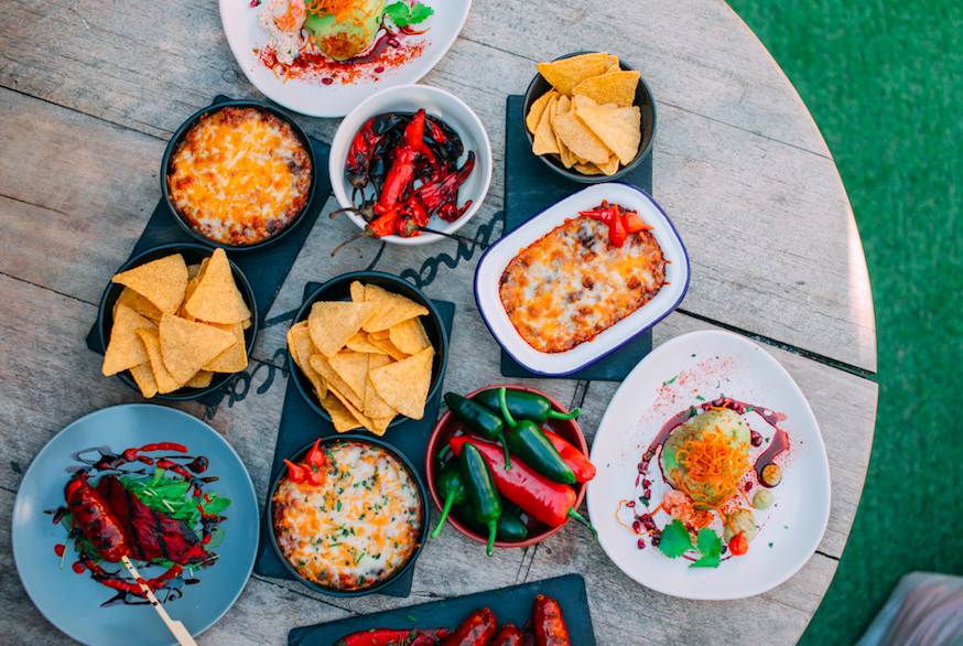 Summer Vibes & Boozy Bottomless Brunch at The Courtyard Fulham: Main Dishes (Photo Credit: Tom Leishman)