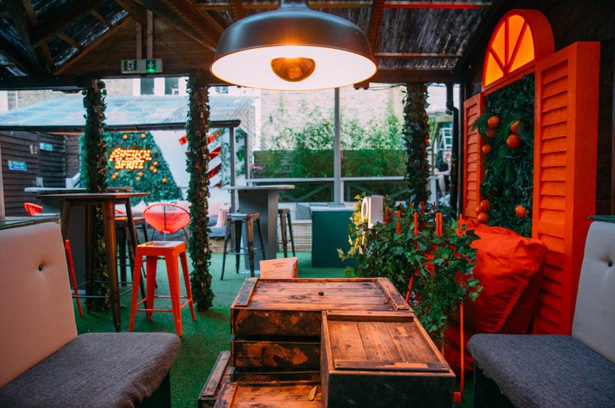 Summer Vibes & Boozy Bottomless Brunch at The Courtyard Fulham: (Photo Credit: Tom Leishman)
