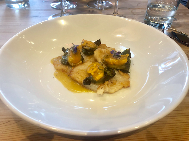 Enoteca Rabezzana, Spitalfields - Real Cooking at its Italian Best: Ray Wings with Mussels Starter