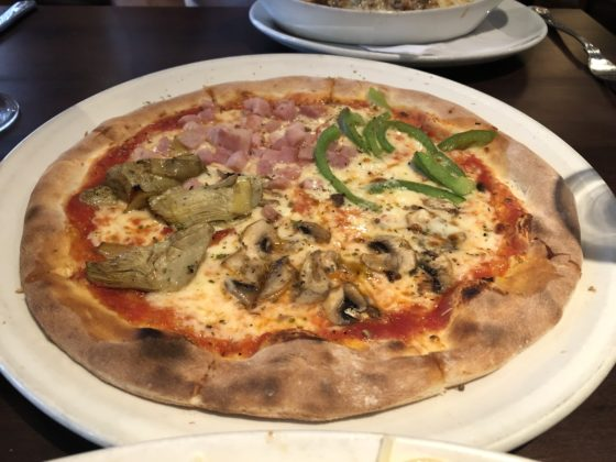 Melanie's Soho - For a Traditional Italian Experience: Main - Quattro Stagioni Pizza