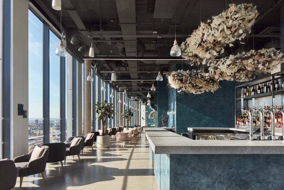 The Luxe List: 8 New Openings For November - Mthr Restaurant & Bar with Panoramic Views of London at The Collective Canary Wharf - The World's Biggest Co-Living Space