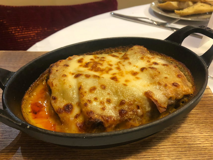 Marco's New York Italian - Media City UK: Lasagne