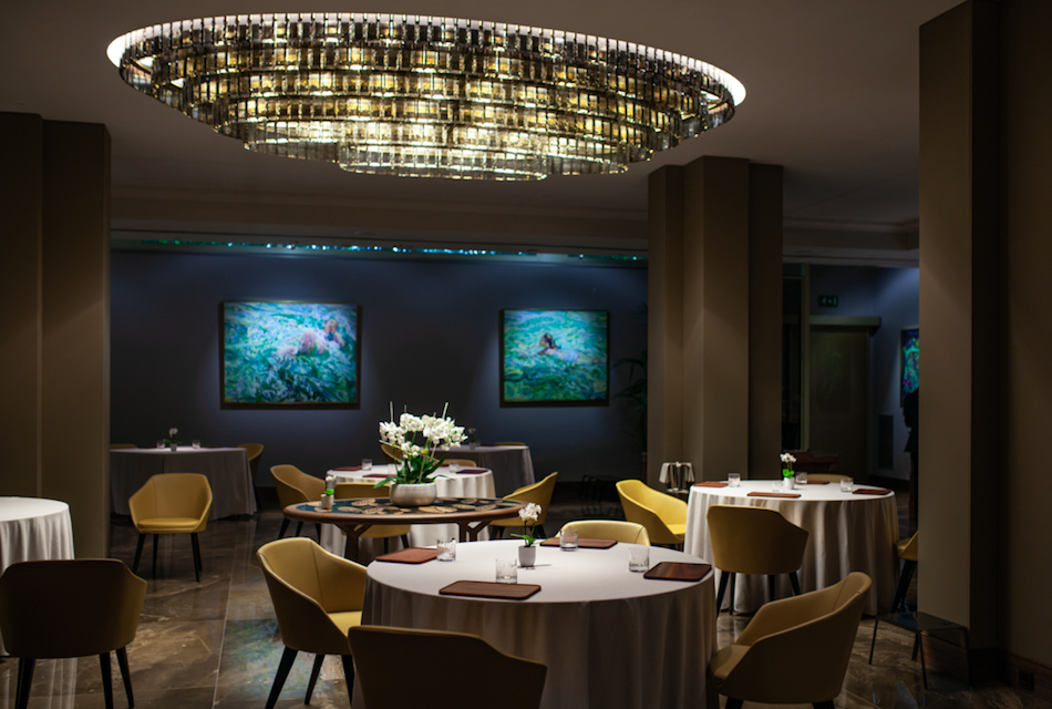 A Glamorous Getaway at The Alàbriga Hotel & Home Suites, Costa Brava: Terra Restaurant Interior
