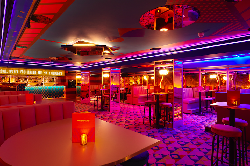 The Lost Alhambra - Lose Yourself in Leicester Square: Take in the Insta worthy backdrops of the main bar area