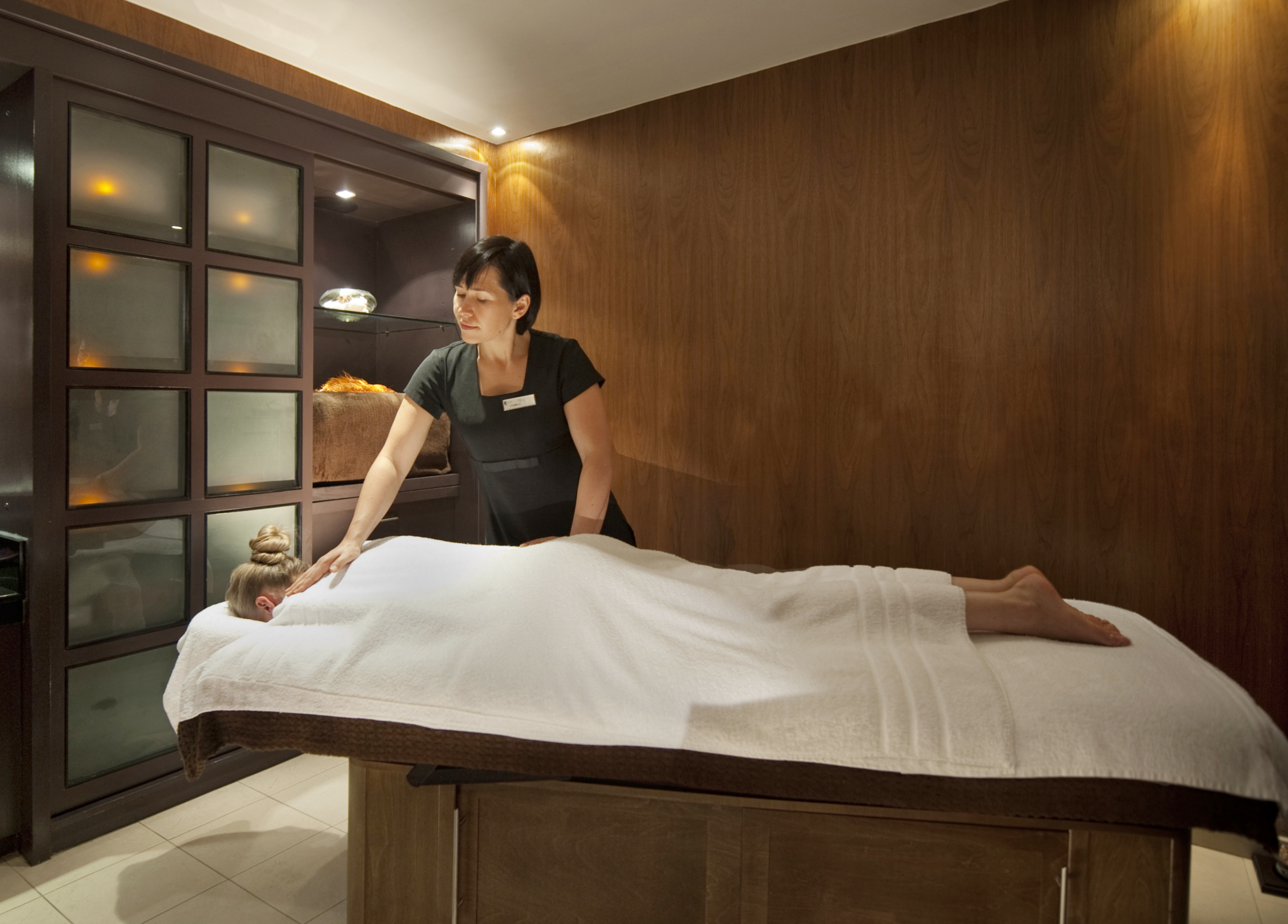 And... Relax... At the K West Hotel & Spa - Spa Treatment Room
