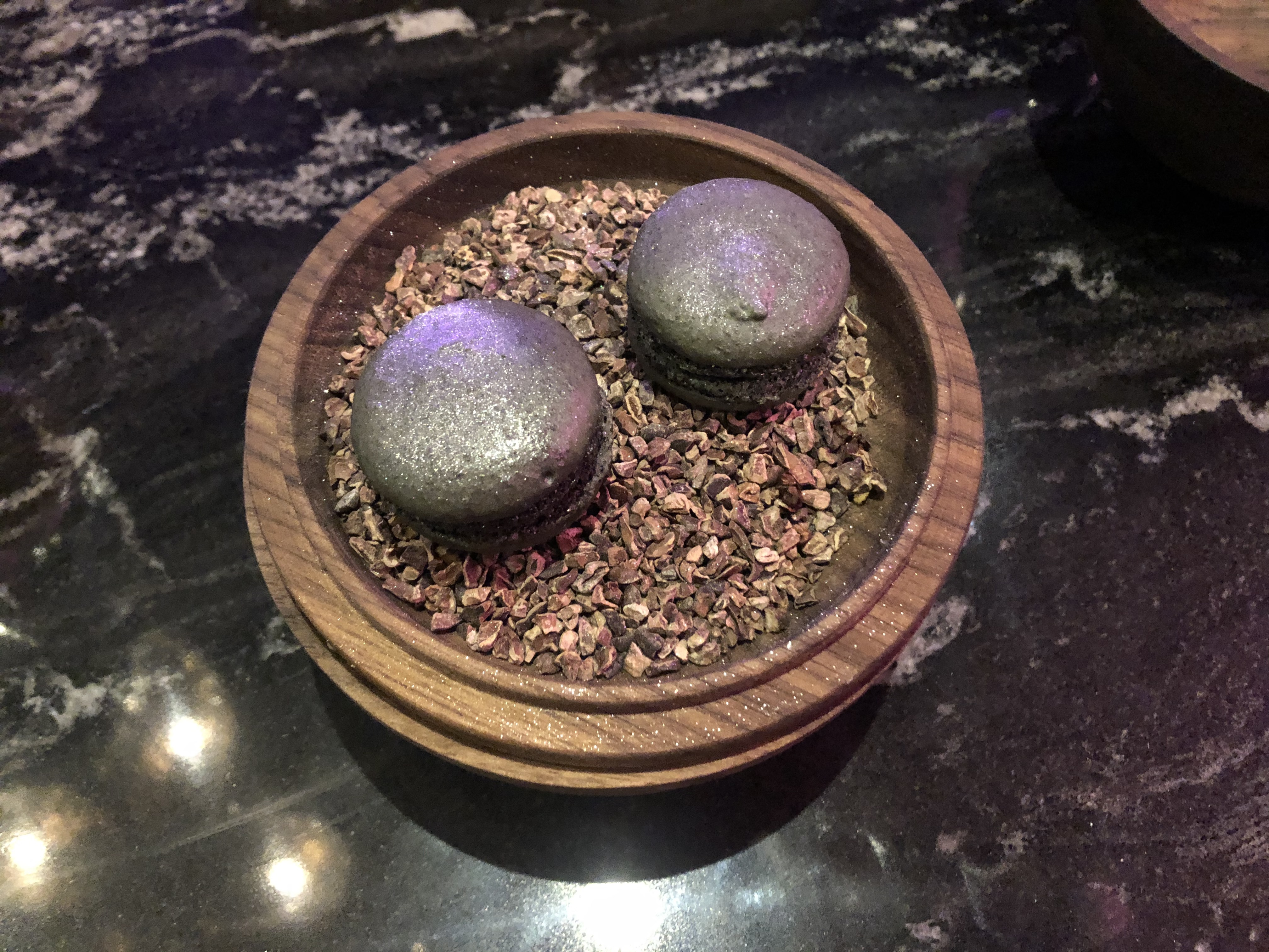 Beautifully Boutique - The Grey Street Hotel, Newcastle: Black Pudding Macarons at Leila Lily's