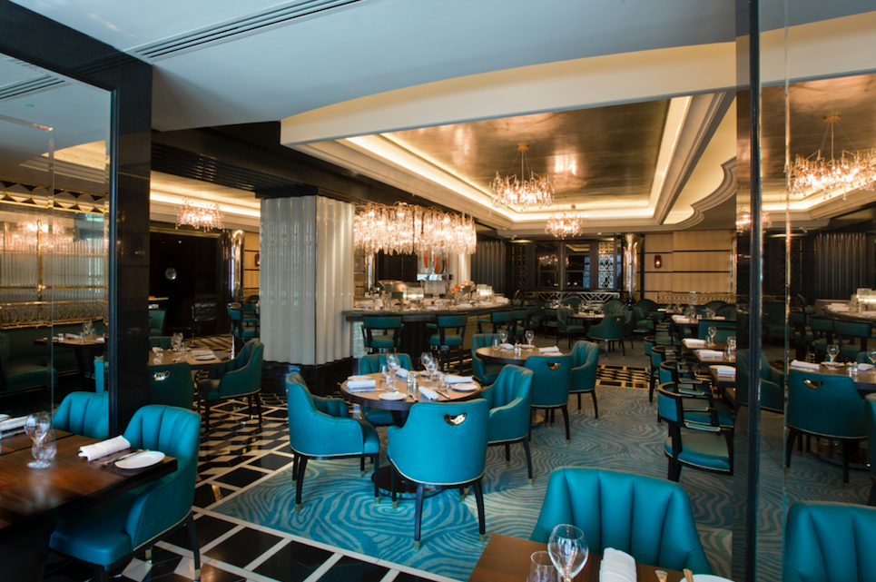 Seafood Heaven at Kaspar's at the Savoy: Interior