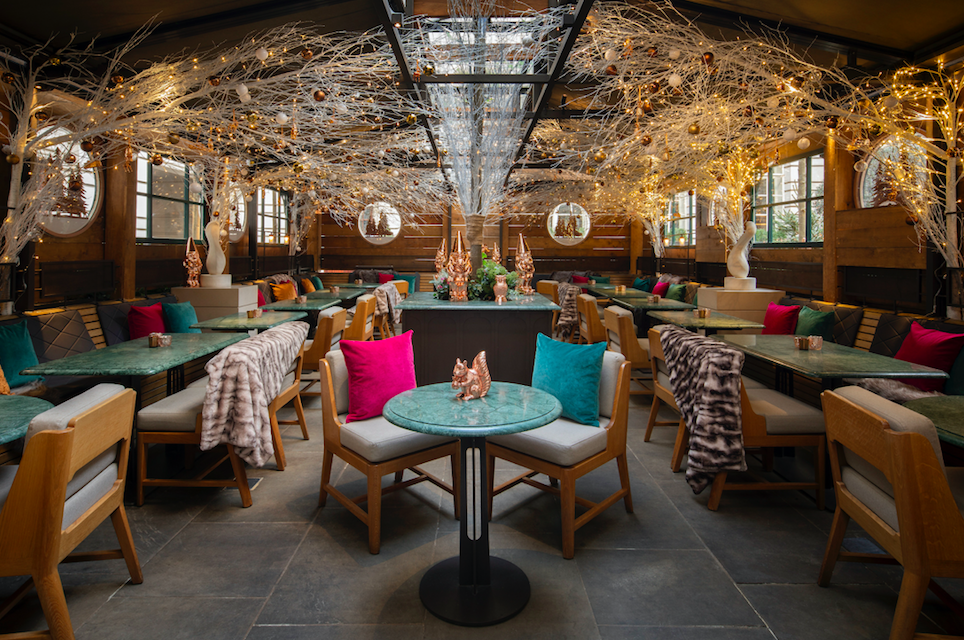 The Luxe List of Christmas Pop-Ups & Terraces 2019 -The Elyx Chalet at Rosewood London