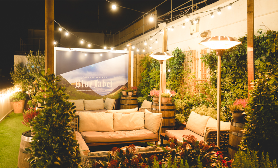 The Luxe List of Christmas Pop-Ups & Terraces 2019 - Johnnie Walker and Alto Rooftop Terrace at Selfridges