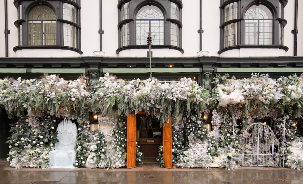 The Luxe List of Christmas Pop-Ups & Terraces 2019 - Narnia Winter Wonderland at The Ivy Chelsea Garden
