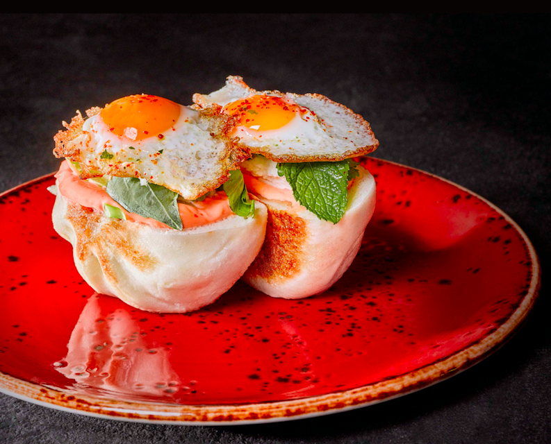 Street XO - A Mind Blowing Experimental Gastronomic Experience! The Steamed XO Club Sandwich