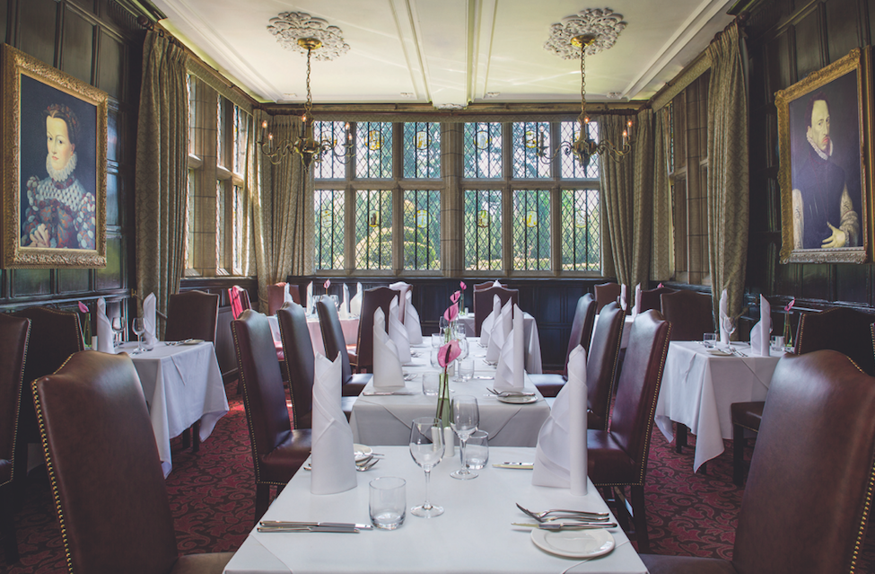A Medieval, Majestic Moat House - New Hall Hotel & Spa: The Bridge Restaurant