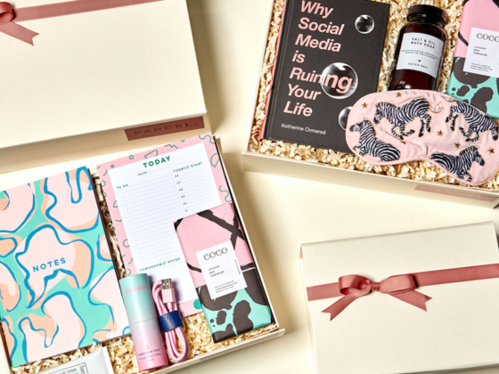 The Luxe bible Christmas Gift Guide - Parcel London Girl Boss £64 and Digital Detox £63