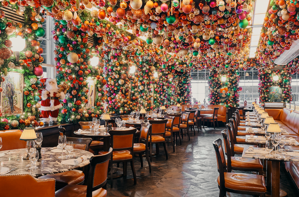 The Luxe List December 2019 - 34 Mayfair's Christmas Installation with Moët & Chandon
