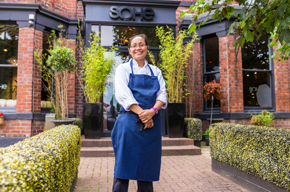 Sophisticated Asian Fusion - Parichat at Sohe, Jesmond: Parichat Somsri-Kirby