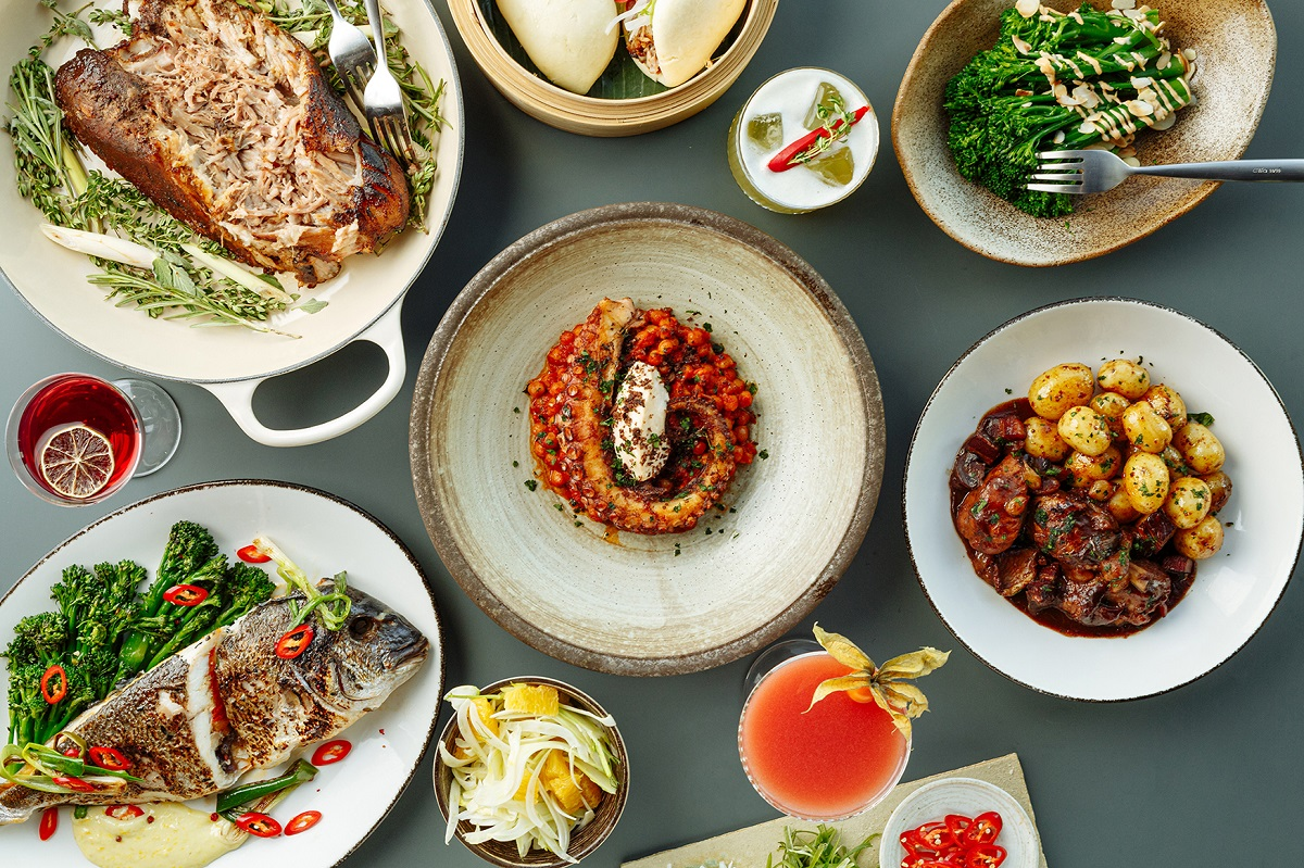 Mthr - Globally Inspired Dishes From London's Newest Skyline Restaurant