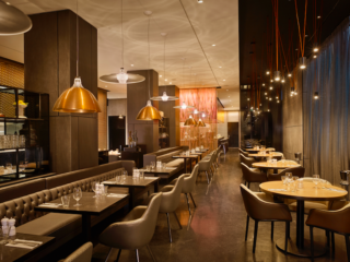 A Seriously Stylish Stay at the Award Winning Park Plaza London Waterloo: Florentine Restaurant & Bar - Check it out on the weekends when they have a DJ on