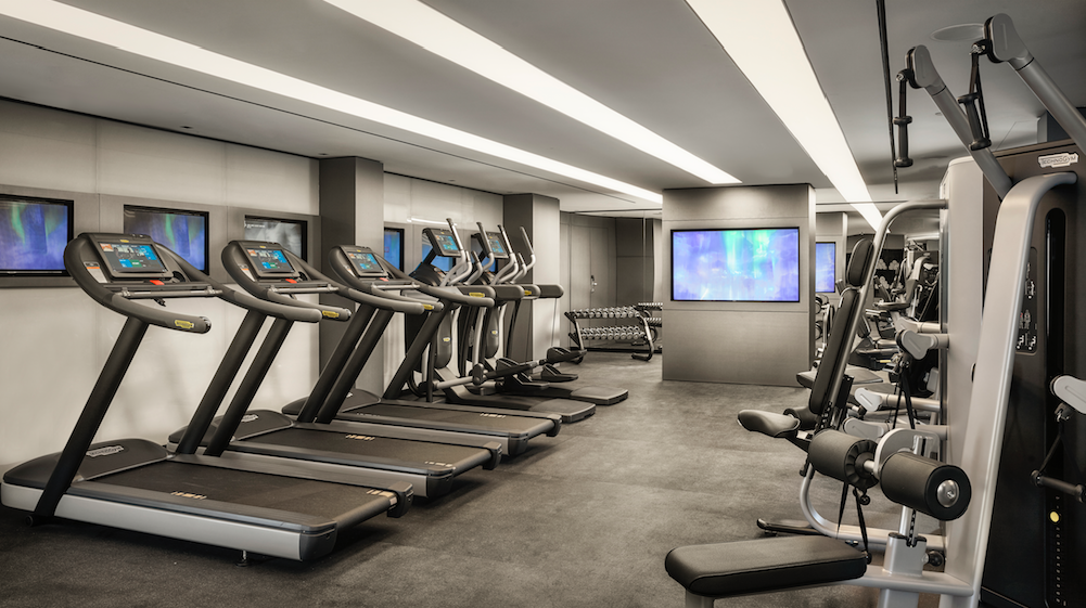 A Seriously Stylish Stay at the Award Winning RHG's Park Plaza London Waterloo: The state-of-the-art fitness centre