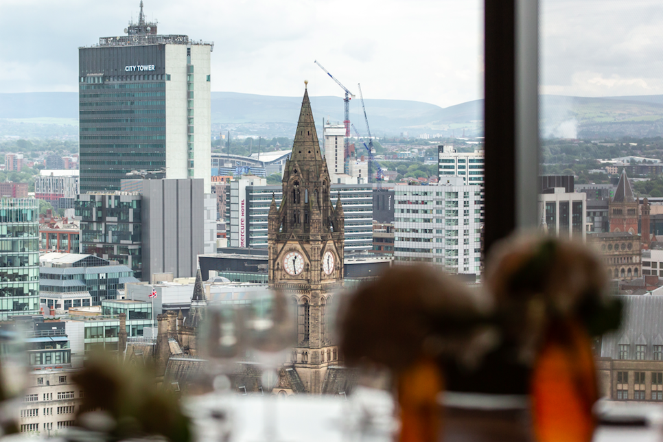 20 Stories, Manchester: With incredible views out across the city