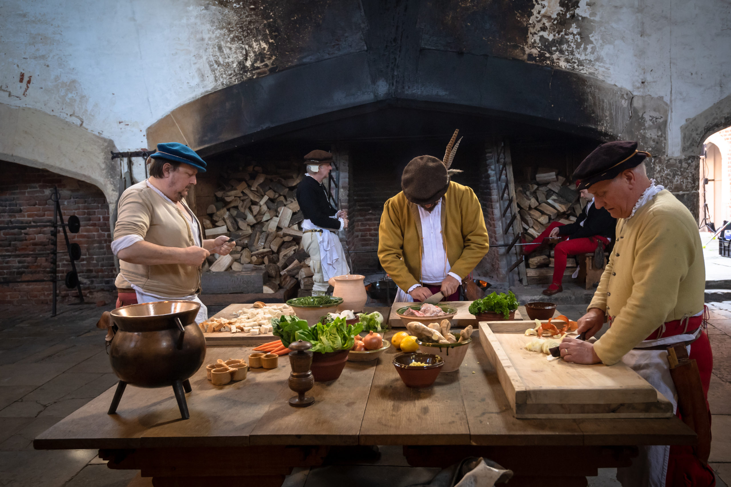Enjoy A Royal UK Getaway at Oatlands Park Hotel: Visit nearby Hampton Court Palace for a great day out for all the family - Cooking in King Henry VIII's Kitchen!