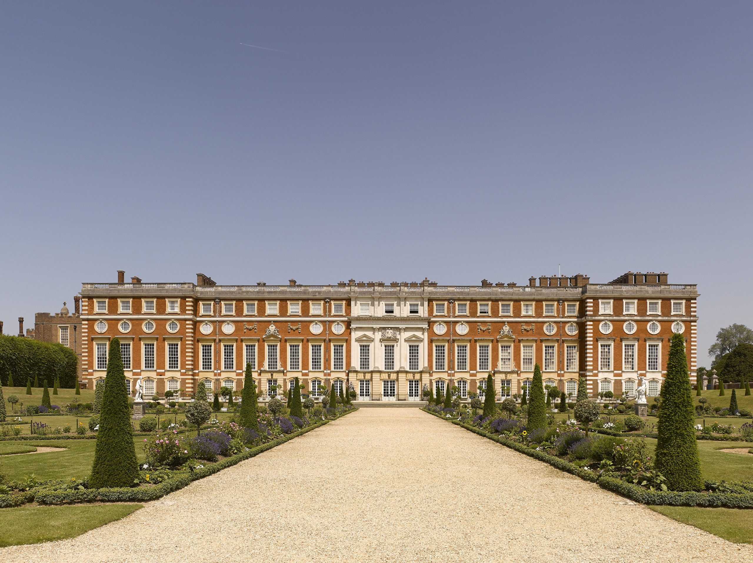 Enjoy A Royal UK Getaway at Oatlands Park Hotel: Visit nearby Hampton Court Palace for a great day out for all the family