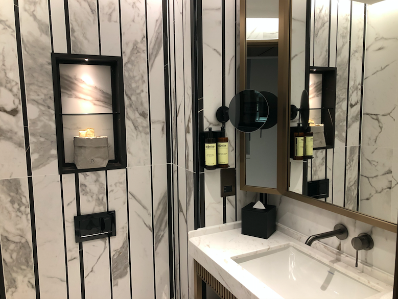 Page8 Hotel - A New London Hotel for Luxury Loving Wanderlusters: The Luxurious Bathroom