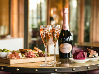 The Luxe List February 2020: Perrier Jouet's Champagne Terrace at Harrods for Valentine's Day
