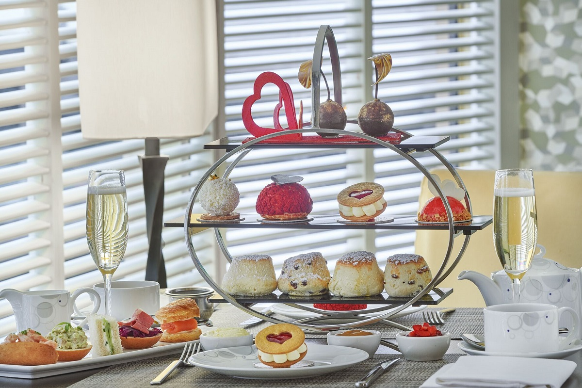 The Luxe List February: Valentine's Afternoon Tea at London Hilton Park Lane