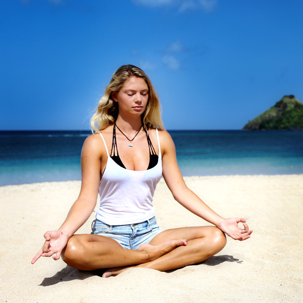 'Seven Minutes in Saint Lucia' Virtual Series Takes You There During Lockdown! Beachy, Breezy, Meditation