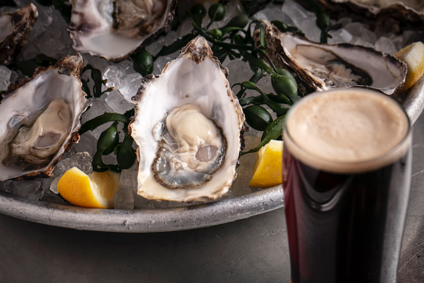 Where to Celebrate St. Paddy's Day 2020: Black Velvet and Oysters at Balthazar