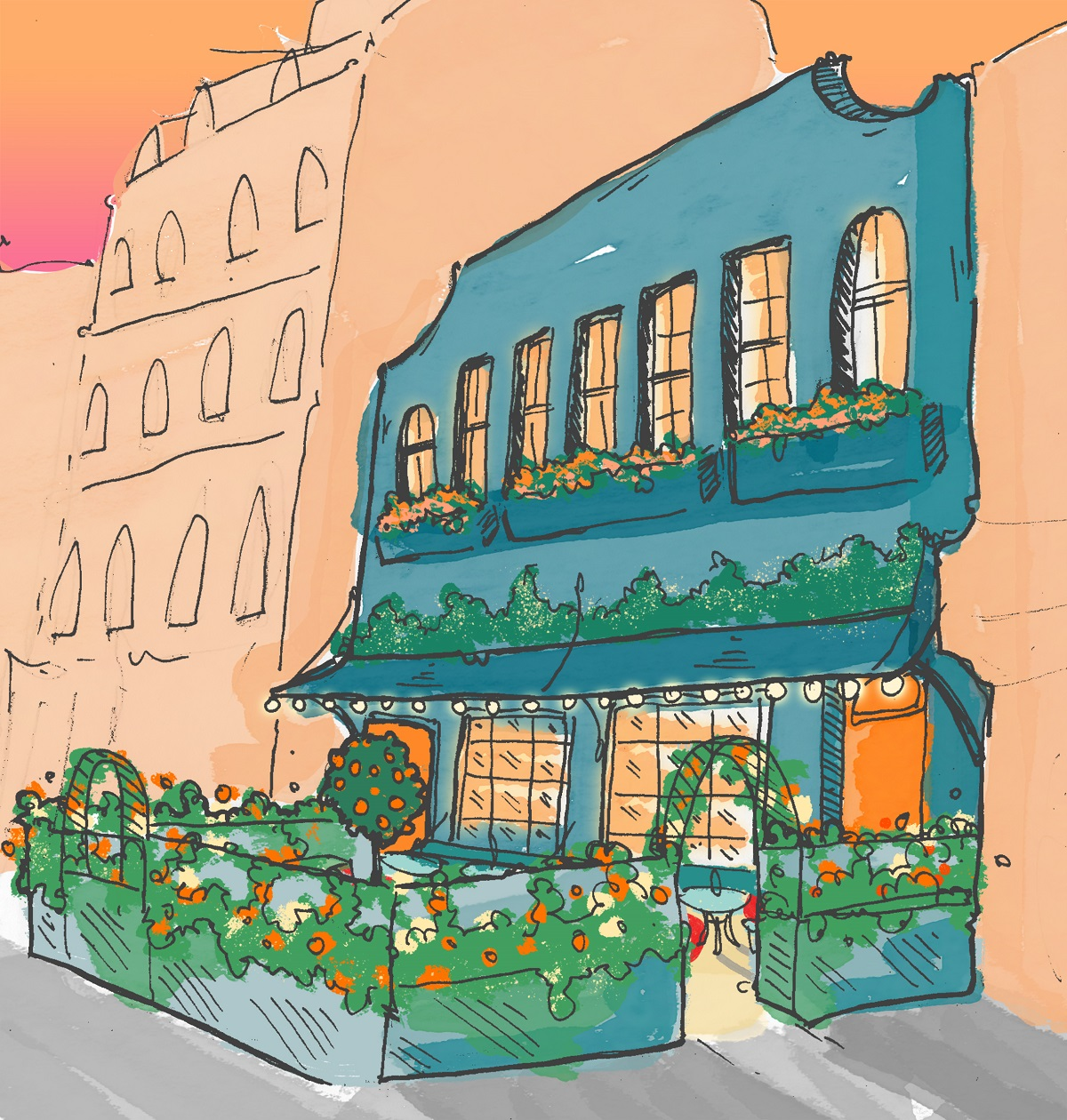 Check Out These Awesome New London Openings! The Little Orange Door