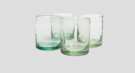 Make Your Work From Home Space Beautiful With Kalinko: Clear Zomi Tumblers £48