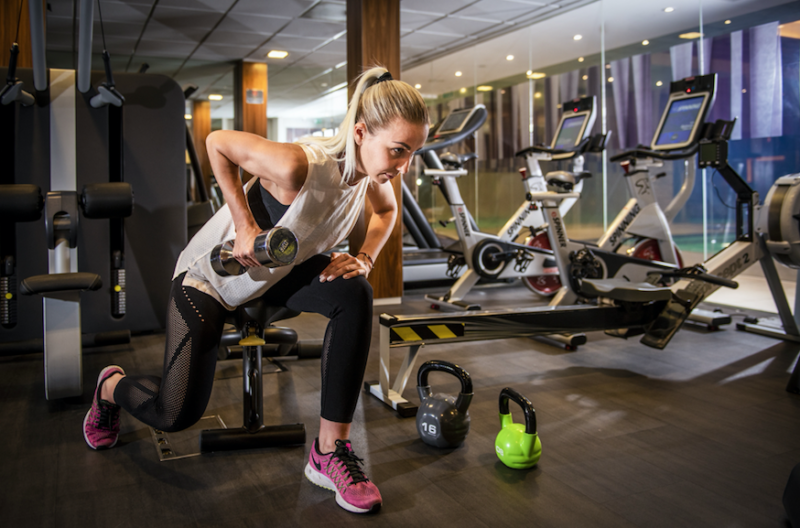 Stay at Home Stay in Shape with Tips from Landmark London's Spa