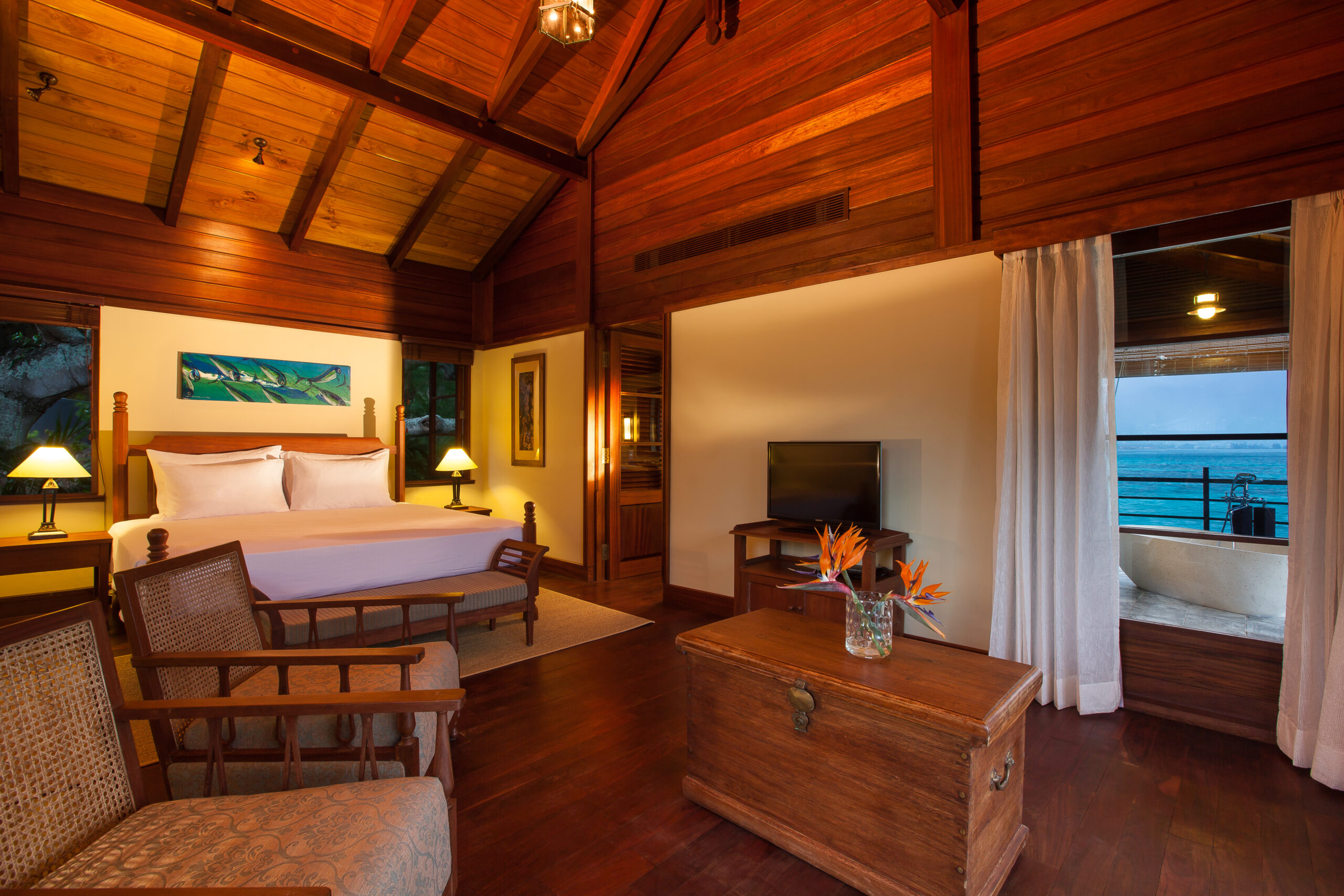Rent Your Own Private Island From Just £368 Per Person! (And it's Officially COVID-19 Free) JA Enchanted Island Resort, Seychelles - Bedroom, Villa Flanbwayan