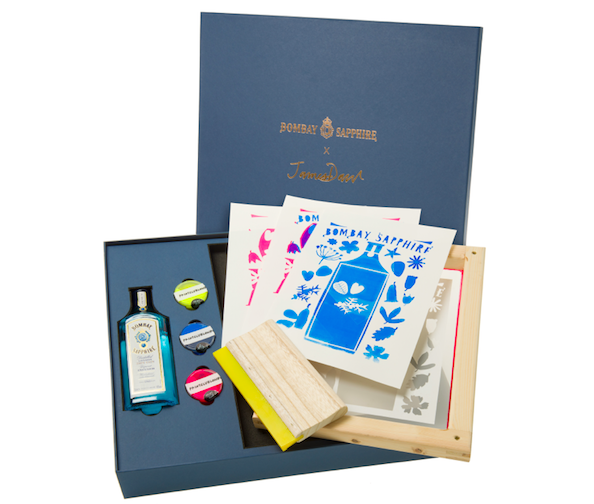 The Luxe List June 2020: Instagram Live Session with Bombay Sapphire x Print Club London (£39 from the e-shop)