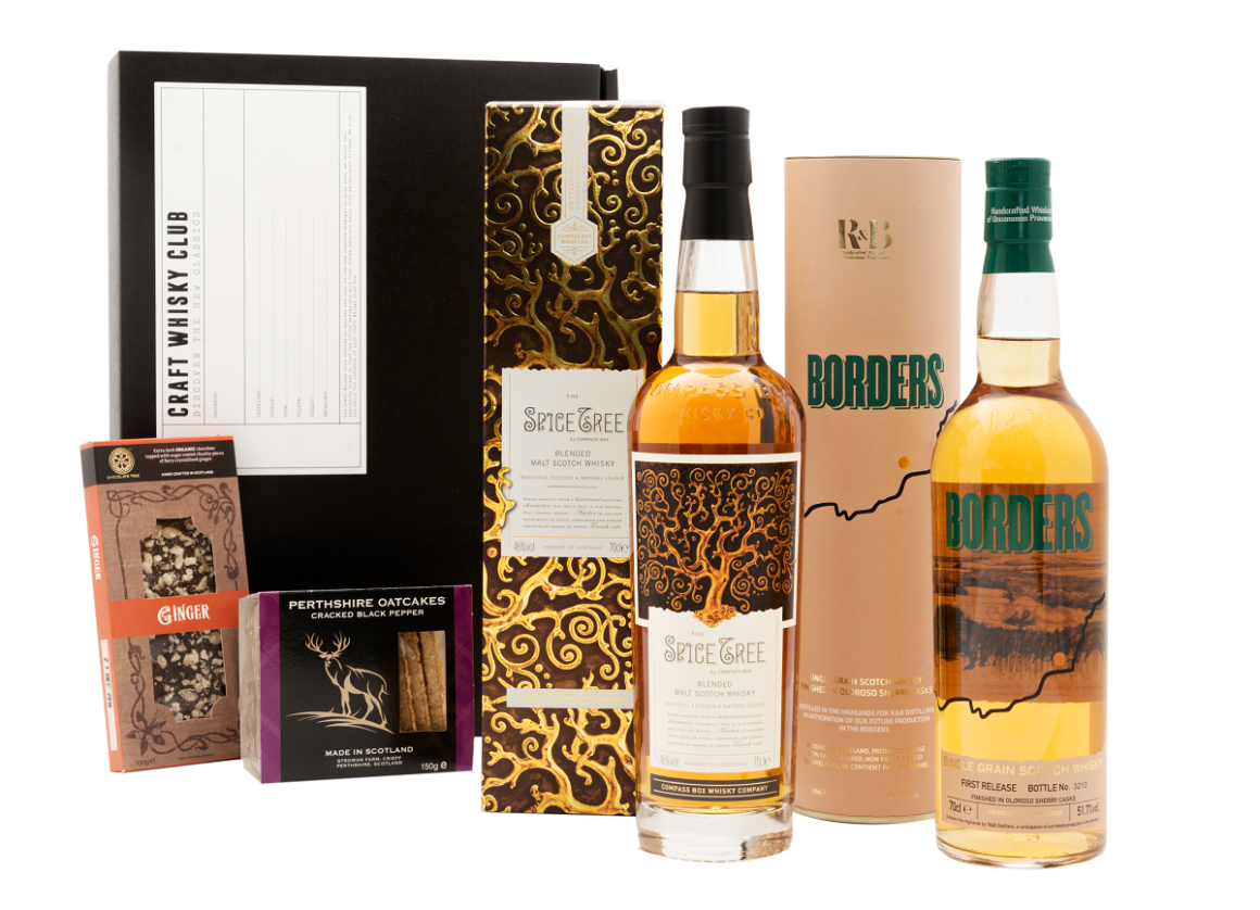 whisky offering from Craft Whisky Club