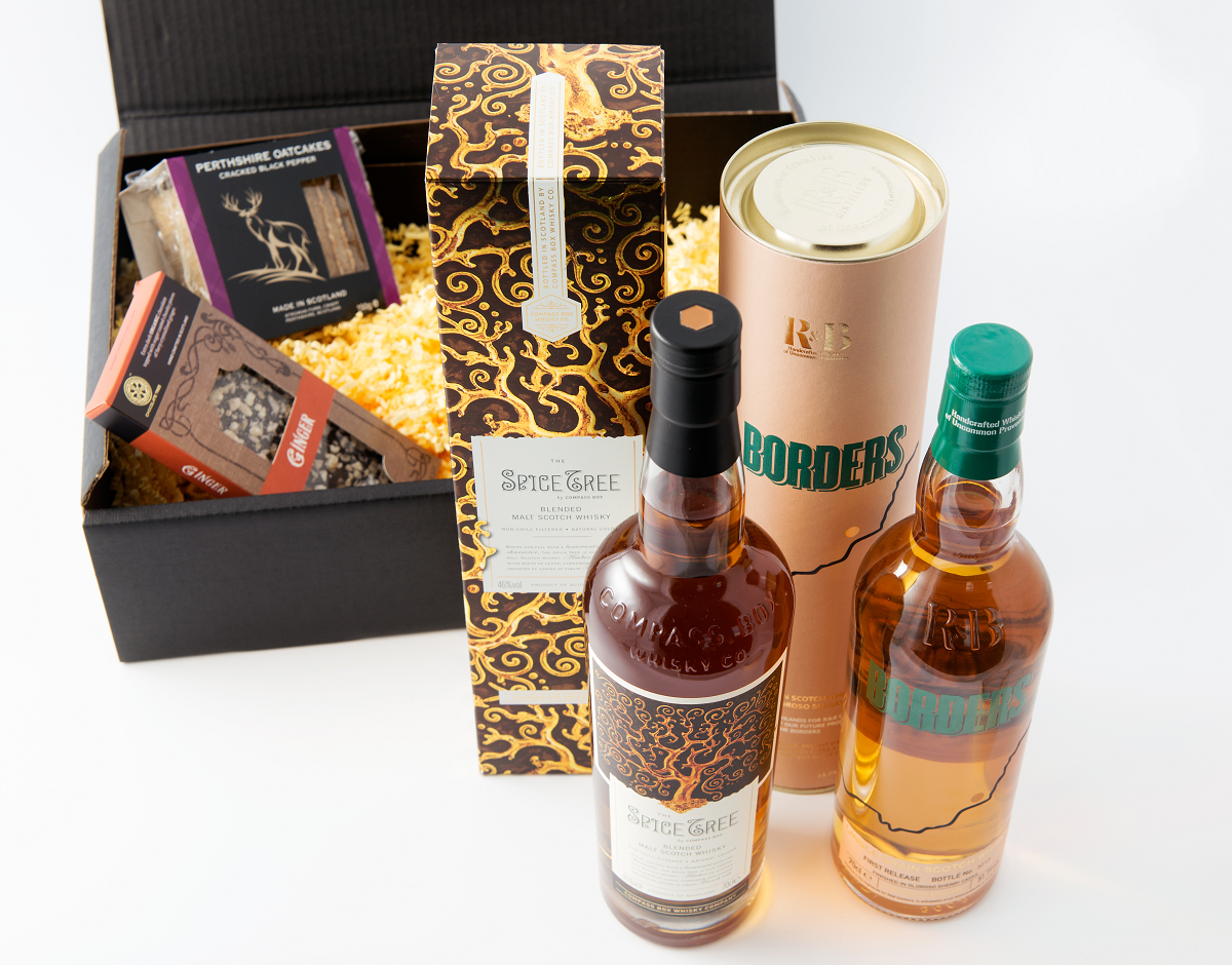 Offering from Craft Whisky Club including presentation box