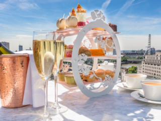 Luxe Bible Loves Skyline Afternoon Tea at Radio Rooftop ME London