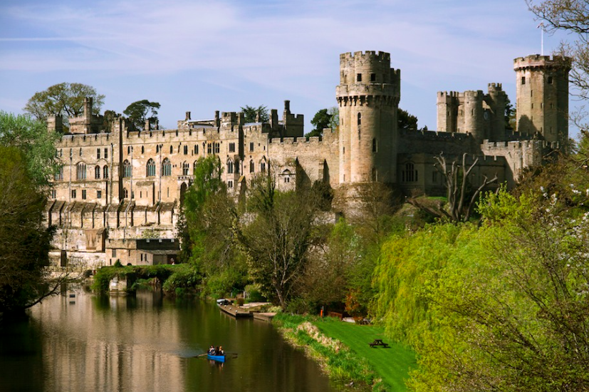 Luxe Bible's 3 UK Castles To Stay In: Warwick Castle Exterior